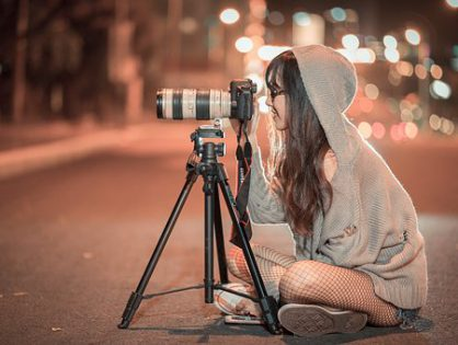 Usługi znakomitego kamerzysty
