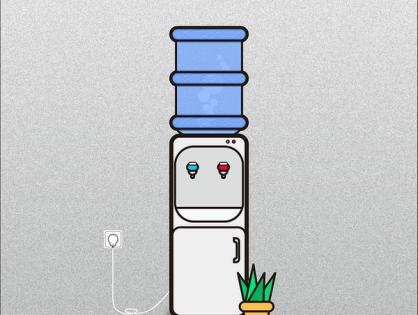 Dystrybutory filtrujące wodę