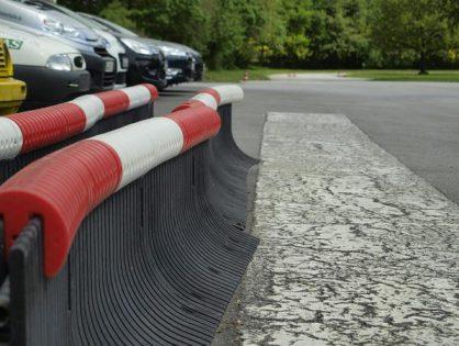 Zastosowanie barierek ochronnych