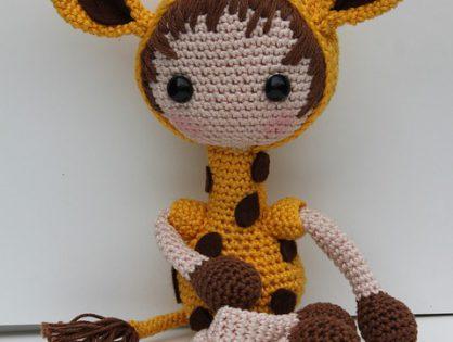Piękne pluszaki handmade dla niemowlaków