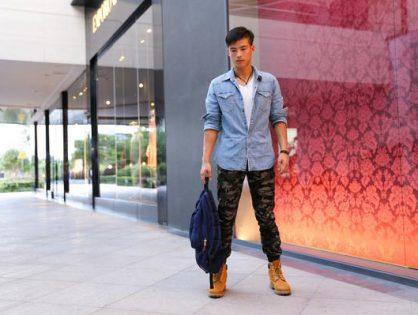 Poczuj się świetnie w męskiej koszuli jeansowej