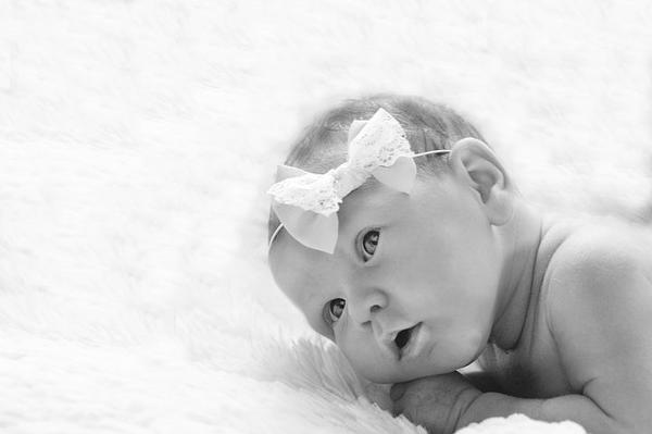 Zamówiliśmy fotografię niemowlęcą dla naszego synka